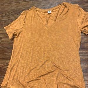 Yellowish Orange Short Sleeve Tshirt